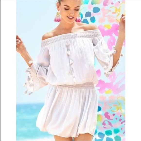 53a05f0fadeeae Lilly Pulitzer Dresses | Nwt Joelle Resort White Dress | Poshmark